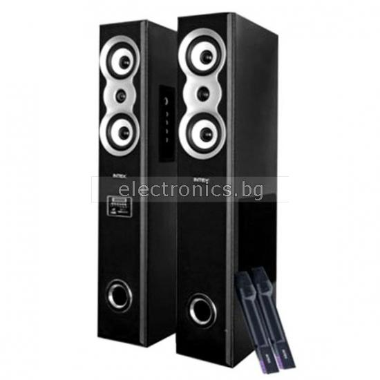 Домашни тонколони IT-12800 FM/SD/USB BLACK, 2x40W