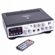 Караоке, Усилвател MA-009, USB SD card player, FM радио, 2x30W