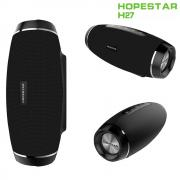 Bluetooth колонка HOPESTAR H27 3D Stereo Boombox, влагозащитена, USB SD AUX, FM Radio PK Charge XTREME, черна