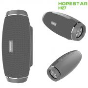 Bluetooth колонка HOPESTAR H27 Wireless Bluetooth Speaker 3D Stereo Boombox, влагозащитена, USB SD AUX, FM Radio PK Charge XTREME, сива