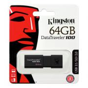 64GB USB Флаш Памет DT100G3 KINGSTON Flash Drive, 64 GB, USB 3.0/USB 2.0 Флашка