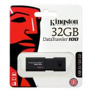 32GB USB Флаш Памет DT100G3 KINGSTON Flash Drive, 32 GB, USB 3.0/USB 2.0 Флашка