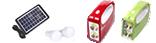 Соларни панели Фенери за къмпинг